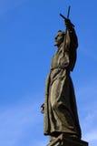 francis Italy świątobliwy statuy varallo fotografia royalty free