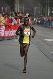 Francis Kibiwott. At the City Pier City Loop 2008 (half marathon).  ended fifth stock images