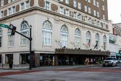 Francis Marion Hotel, Charleston, SC. Stock Photos