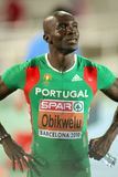 Francis Obikwelu of Portugal Stock Image
