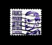 Francis Parkman, serie famoso dos americanos, cerca de 1967 Imagens de Stock