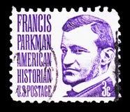 Francis Parkman, serie famoso dos americanos, cerca de 1967 fotos de stock royalty free