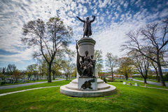 The Francis Scott Key Burial Site at Mount Olivet Cemetery in Fr Stock Photos