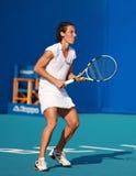 Francisca Schiavone, jugador de tenis profesional Fotos de archivo
