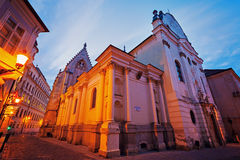 Franciscan Church in Bratislava Stock Images
