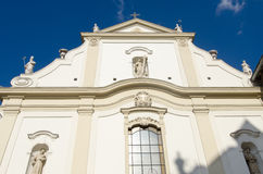 Franciscan church, Budapest Stock Images
