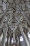 Franciscan Church ceiling in Salzburg, Austria royalty free stock photography