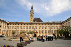 Franciscan Church (Franziskanerkirche) in Salzburg Royalty Free Stock Photography