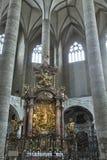 Franciscan Church interior in Salzburg, Austria Stock Photo