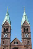 Franciscan Church in Maribor Stock Photos