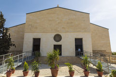 Franciscan church on Mount Nebo, the place of the alleged death of the Prophet Moses and the place where God showed him the Promis. Ed Land, Madaba, Jordan Stock Photos