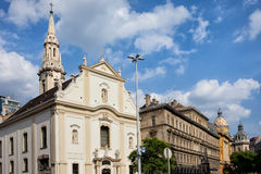 Franciscan Church of Pest in Budapest Stock Photography