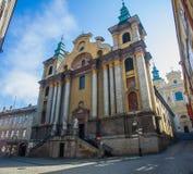 Franciscan Church in Przemysl Stock Image