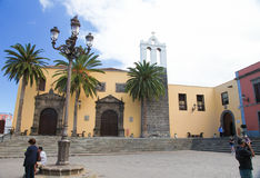 Franciscan convent in Garachico, Tenerife royalty free stock image
