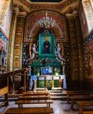 Franciscan domkyrka i Sanok, Polen fotografering för bildbyråer