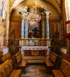 Franciscan domkyrka i Sanok, Polen royaltyfri fotografi