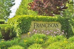 Franciscan Estate Winery. Franciscan Oakville Estate is a Winery in Napa Valley, California Stock Image