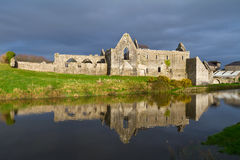 Franciscan Friary in Askeaton. 14th Century Franciscan Friary in Askeaton, Co. Limerick, Ireland Royalty Free Stock Images