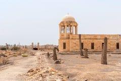 Franciscan kapel op de grens van Israël en Jordanië Stock Foto