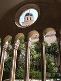 Franciscan klooster stock afbeeldingen