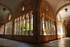 Franciscan klooster; Dubrovnik, Kroatië Stock Fotografie