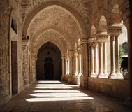 franciscan kloster arkivbild