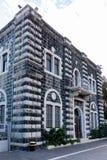 Franciscan kloster i Capernaum royaltyfria foton