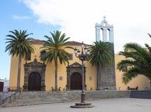 Franciscan kloster i Garachico, Tenerife royaltyfria bilder
