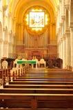 Franciscan kloster och kyrka för St. Catherine Arkivbilder