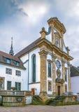 Franciscan kloster, Paderborn, Tyskland arkivbilder