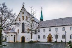 Franciscan kloster, Warendorf, Tyskland arkivbild