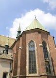 Franciscan kyrka i Krakow royaltyfria foton