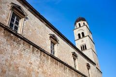 Franciscan Monastery. In Dubrovnik, Croatia stock images