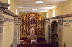 Franciscan Monastery Church Alter at Amacueca Royalty Free Stock Photo