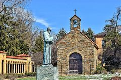 Franciscan Monastery of the Holy Land in America, Washington, DC Stock Photography