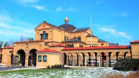 Franciscan Monastery of the Holy Land in America, Washington, DC Royalty Free Stock Photo