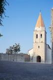 Franciscan Monastery in Krk town. Krk island, Croatia. Stock Image