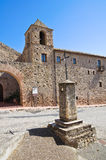 Franciscan monastery. Rocca Imperiale. Calabria. Italy. Stock Images