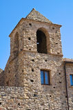 Franciscan monastery. Rocca Imperiale. Calabria. Italy. Stock Photography
