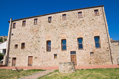 Franciscan monastery. Rocca Imperiale. Calabria. Italy. Royalty Free Stock Photography