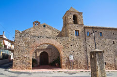 Franciscan monastery. Rocca Imperiale. Calabria. Italy. Stock Photo