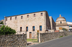 Franciscan monastery. Rocca Imperiale. Calabria. Italy. Stock Image