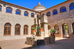 Franciscan monastery. Rocca Imperiale. Calabria. Italy. Royalty Free Stock Photos