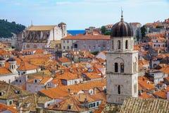 Franciscan Monastety, Dubrovnik arkivfoto