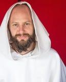 Franciscan monnik bij Fort George Royalty-vrije Stock Fotografie