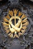 Franciscan monogram royalty-vrije stock fotografie