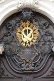 Franciscan monogram royalty-vrije stock foto