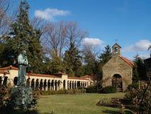 Franciscan Tuin van het Klooster, Washington DC Stock Afbeeldingen