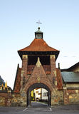Franciscankyrka av den jungfruliga Maryen i Krosno poland Royaltyfria Foton