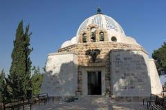 Franciscankyrka på herdarnas fält i Palestina royaltyfri bild